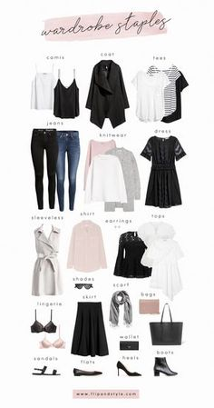 Capsule Wardrobe Staples For 2018