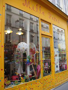 Mile fetes boutique Paris