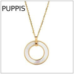 Upgrade Your Look with precious Puppis Jewels.Buy online Now. Stylish Jewelry, Oysters, Gold Necklace, Necklaces, Jewels, Shopping, Gold Pendant Necklace, Bijoux, Chain