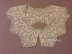 Crochet Collar Pattern, Crochet Patterns, Lace Necklace, Lace Collar, Crochet Accessories, Crochet Projects, Lace Shorts, Diy And Crafts, Crochet Earrings