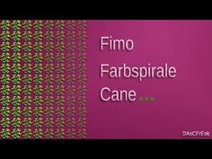 FIMO Cane Farbspirale: Polymer color spiral - Tutorial [HD/deutsch] (EN-Sub) - YouTube