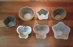 laser cut wooden bowls