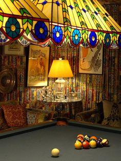 Elvis's Pool Room - Graceland (Elvis Presley Mansion) - Memphis - Tennessee -