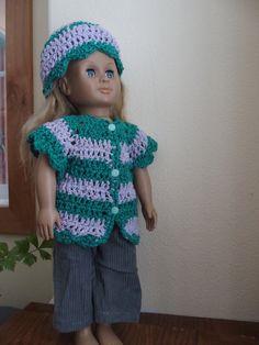 18-Zoll-Puppe Kleidung: American Girl Puppe von NewAgainDesigns