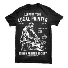Local Printer Graphic design