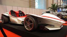 Sbarro Triple Race Car Concept  -  Exterior and Interior Walkaround