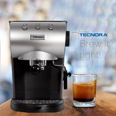 Looking for a hassle free way to prepare an Espresso shot? Brew it just right with Tecnora Coffee Machines: http://tecnora.in/products/coffee-machine/