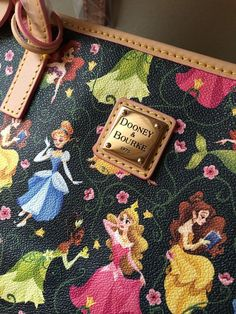 NEW DISNEY DOONEY BOURKE 2016 PRINCESS HALF MARATHON SHOPPER TOTE - NWT