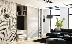 The American sliding door company provides high-quality sliding doors with great interior design, functionality and affordability that brings beauty and functionality to your home or office. Contact us today at or Sliding Door Company, Sliding Door Systems, Sliding Wardrobe Doors, Sliding Doors, Door Storage, Tall Cabinet Storage, Kitchens And Bedrooms, Wardrobe Design, Couch