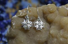 Copo de nieve -Aretes- by MoraMoon on Etsy