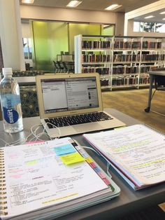 Image shared by Find images and videos about studyblr, studyspo and study inspiration on We Heart It - the app to get lost in what you love. Study Desk, Study Space, Study Areas, Book Study, Lerntyp Test, Study Organization, Stationary Organization, High School Organization, University Organization