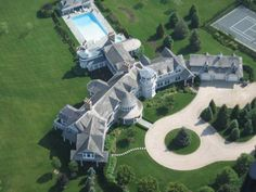 Fairfield Pond, The Hamptons in the 4th place. This 63 acre home is considered the largest residential compound in America. The 29 bedroom beachfront home of publicity shy billionaire Ira Rennert has 5 sports courts, a bowling alley and a $150,000 hot tub. http://ritemail.blogspot.com/2013/07/top-10-world-most-expensive-house.html