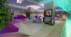 Проект дизайна квартиры: 3д концепция интерьера: для мастерской Сергея Эcтpина