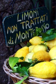 ♔ Lemons ~  Italy