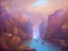 The Argonath by Joe Gilronan