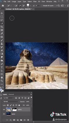 Photoshop Design, Photoshop Tutorial, Adobe Photoshop, Photoshop Photography, Creative Photography, Graphic Design Lessons, Graphisches Design, Digital Painting Tutorials, Photoshop Illustrator