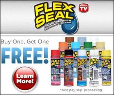Leaking Roofs And Gushing Gutters Can Be Sealed With A Quick Shot Of Flex Seal