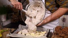 Krtek z plechu: korpus vydlabeme a vysteleme banány Ice Cream, Cakes, Baking, Recipes, Food, No Churn Ice Cream, Cake Makers, Icecream Craft, Kuchen