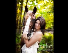 senior photo with horse - Google Search