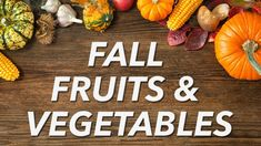 Fall Fruits & Vegetables - YouTube