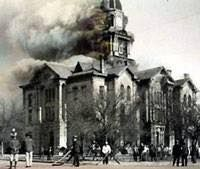 Fannin County Courthouse fire