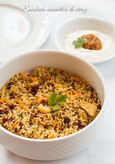 """Ensalada aromática de arroz   By """"Cocido de Sopa"""""""