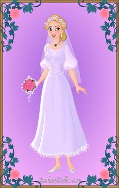 Blushing Bride Madellaine by LadyIlona1984 on deviantART