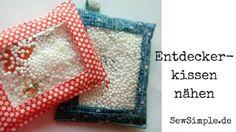 Entdecker-Kissen nähen ist ganz einfach. Und sie sind eine super Sache - auf langen Autofahrten, im Wartezimmer oder als Geschenk beim Kindergeburtstag!