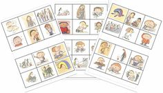 Loto / memory L'école de Léon - Petite Section, Album Jeunesse, Free Frames, Teaching, Education, School, Kids, Albums, Jouer