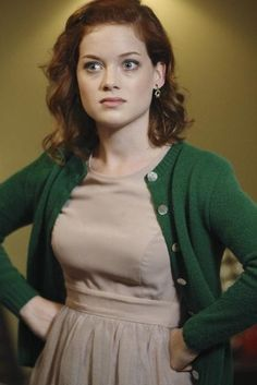 Jane Levy  I love her!  She's such a cutie.