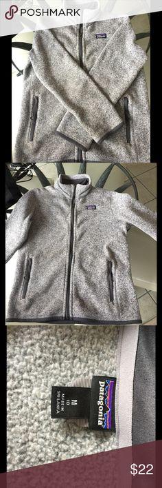 Patagonia Boys' Better Sweater Jacket Size: Youth medium size 10 Company: Patagonia Color: stonewash gray Patagonia Jackets & Coats Vests