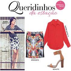 Compre moda com conteúdo, www.oqvestir.com.br #Look #Loves #Print #Summer 14
