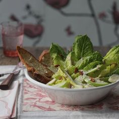 Skinny Caesar Salad Dressing