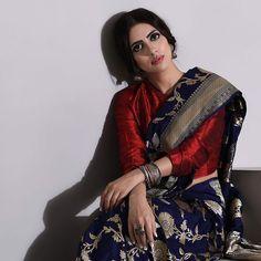 Indian Attire, Indian Wear, Banarasi Sarees, Indian Designer Wear, Saree Blouse Designs, Fashion Outfits, Womens Fashion, Indian Fashion, Color Combinations