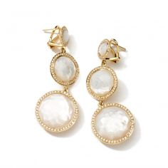 18K Gold Rock Candy 3-Drop Lollipop Earrings with Diamonds - Express Your Love with Jewelry - Shop Gifts | IPPOLITA