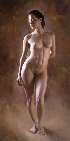 Javier Arizabalo, nude painting. Insane!
