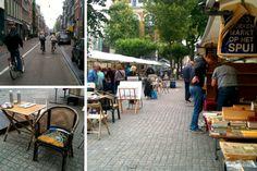 Book market in Amsterdam