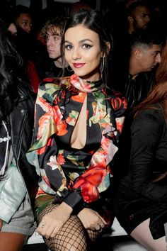 Stunning at a fashion show – Volatile Victoria Justice Victoria Justice, Cindy Kimberly, Amanda Bynes, Charli Xcx, Keke Palmer, Kirsten Dunst, Vicky Justice, Beautiful Celebrities, Beautiful Women