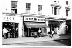 Chelsea Kitchen (now closed), King's Road, London, SW3, UK, April 2003 by EricK06, via Flickr