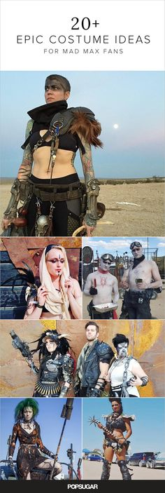 Go all out for Halloween with these amazing Mad Max costumes | Follow the link some of them are amazing! Even dog haha :D