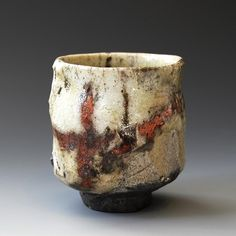 Imagine drinking your morning coffee from this cup by Akira Satake.
