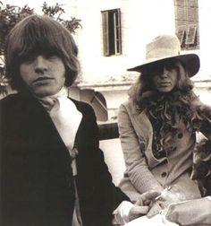 Brian Jones with Anita Pallenberg