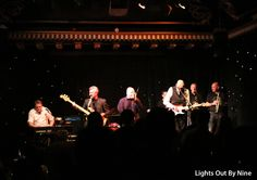 Lights Out By Nine - performing live at Edinburgh Blues Club