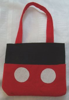 Set of 5 Mickey Mouse or Minnie Mouse Reusable by TheCraftHouse, $25.00