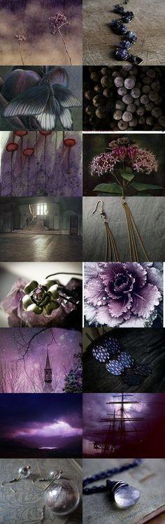 Farbpalette des Winter - Farbtyps Facettenreiches Violett (Farbpassnummer 23) Kerstin Tomancok / Farb-, Typ-, Stil & Imageberatung