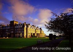Gleneagles in Scotland...I think I must have lived here in another life...