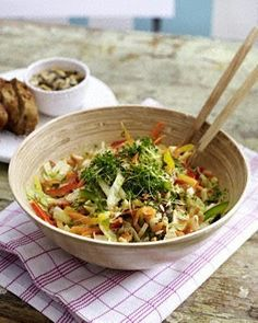 Bunter Salat Rezept...