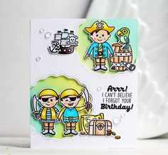 Sunny Studio Stamps: Sunny Saturday Customer Card Share by Olga Moss