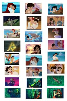 """""""The Little Mermaid 2 Part 1"""" by johnnawood ❤ liked on Polyvore featuring kunst"""