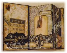 Mini Album Using Teresa Collins Vintage Finds